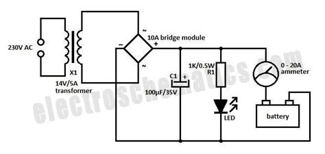Lade Led 24 Volt Simple 12 Volt Charger Circuit