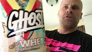 Ghost Whey Protein Review- Cereal Milk Flavor