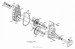 Dixon Ztr 5601  1995  Parts Diagram For Gearbox Assembly