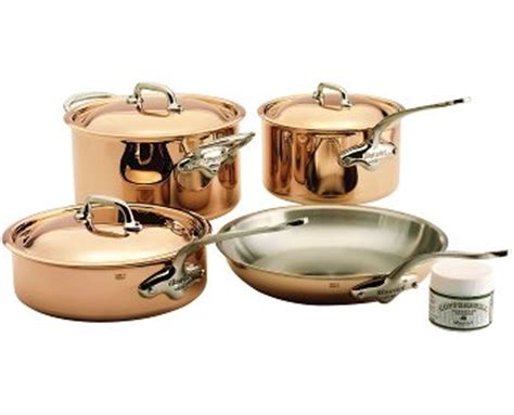 mauviel ms copper cookware sale  shipping metrokitchen