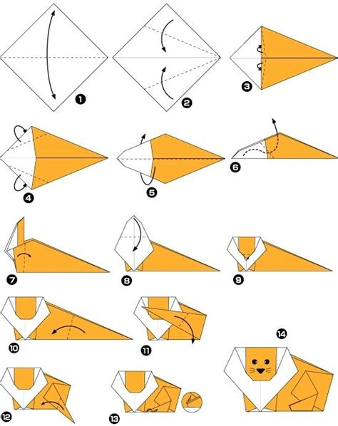 origami animaux facile explication origami animaux facile