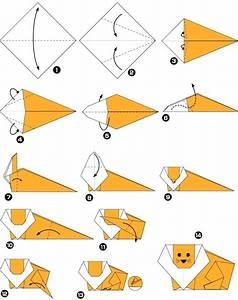Origami Animaux Facile Gratuit : explication origami animaux facile ~ Dode.kayakingforconservation.com Idées de Décoration