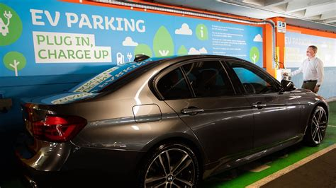 Power To Electric Car Drivers At The Mall Blackburn
