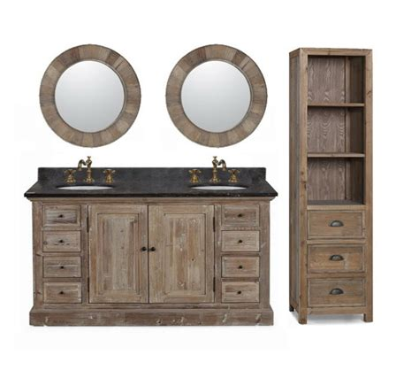 inexpensive kitchen sinks infurniture solid recycled fir 60 quot sink bathroom 1860