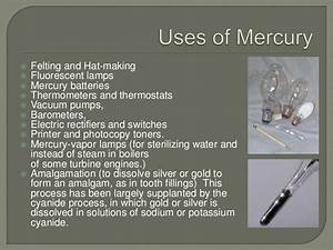 Mercury and heavy metal pollution