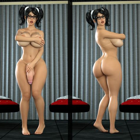 Rule 34 3d Areolae Ass Balls Big Breasts Big Penis Black