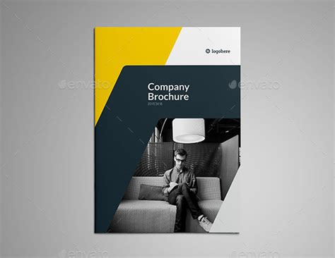 awesome company profile design templates web