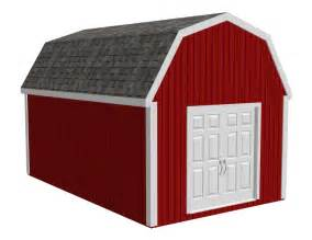 gambrel shed plans sds plans