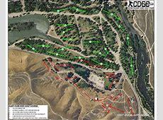 Hart Park Suicide Flats in Bakersfield, CA Disc Golf