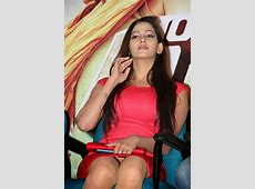 Sanjana Singh Stills At Meagamann Movie Success Meet