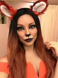 Fuchs Kostüm Selber Machen : 20 fox halloween makeup ideas for women karneval kost m reh halloween kost m und fasching ~ Frokenaadalensverden.com Haus und Dekorationen