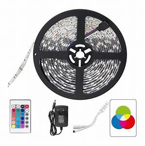 ruban led 5 metres rgb 150led smd5050 ip65 With carrelage adhesif salle de bain avec led rgb 5050
