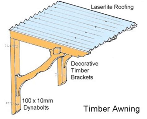 build  decorative timber awning  day fencing newsletter