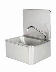 Lave Main Inox : evier en inox lave mains avec robinet et distributeur ~ Melissatoandfro.com Idées de Décoration