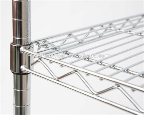 new design supermarket chrome wire shelving kitchen