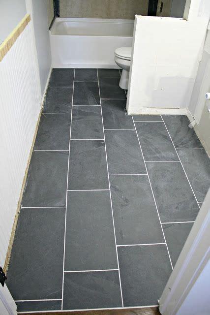 tile  bathroom floor   diy life
