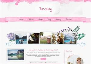 Beauty blogger template o blogspot templates 2018 for Free beauty blog templates
