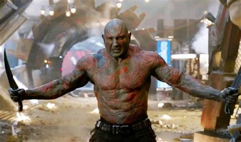 dave bautista showcases  draxmode physique