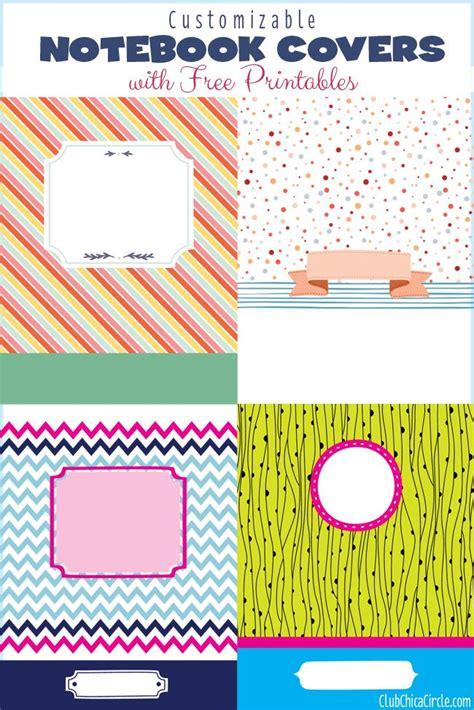 notebook cover design  pinterest notebook design