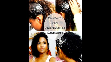 penteado  madrinhas de casamento por cachos em dobro youtube