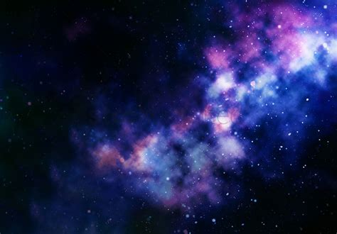 The Galaxy Background Galaxy Background Design Stock Photo 2001741