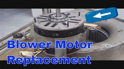 Hvac Service Blower Motor Replacement More Youtube