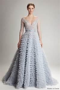 hamda al fahim blue wedding dress unique wedding ideas With blue wedding dress designer