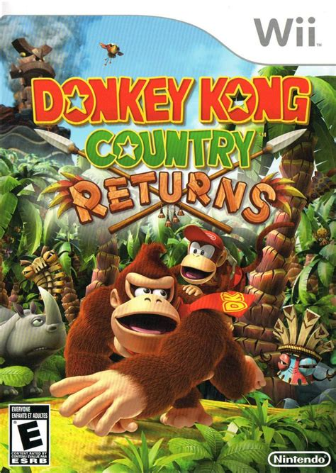 donkey kong country returns  wii  mobygames