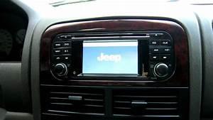 Grand Cherokee In-dash Gps Touchscreen