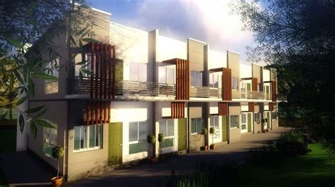 units story apartment modern zen type design house styles house design house plans