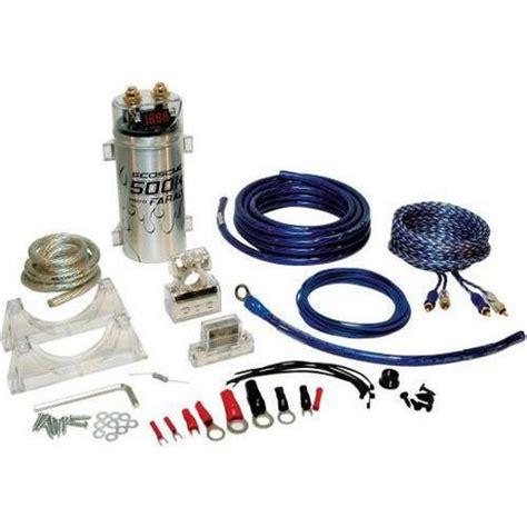 Scosche Channel Single Amplifier Wiring Kit Walmart Canada