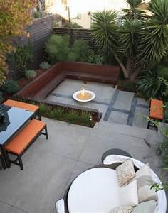 Brasero En Pierre : terrasse 21 id es pour bien l 39 am nager ~ Nature-et-papiers.com Idées de Décoration