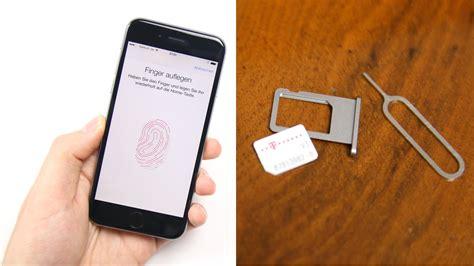 iphone 6 sim apple iphone 6 6 plus einrichten nano sim einlegen