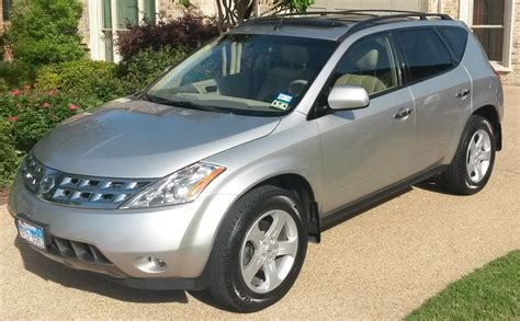 Nissan Murano 2003 Reviews by Picture Of 2003 Nissan Murano Sl Exterior