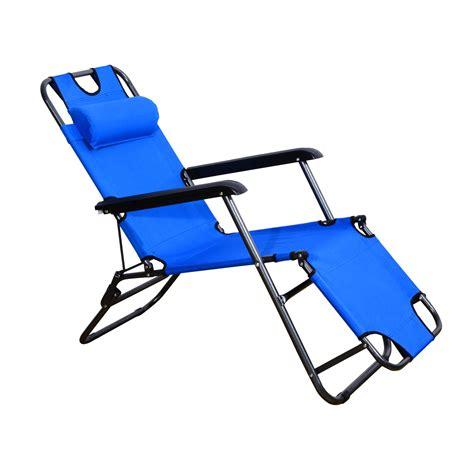 lounger chair folding portable chaise sun lounger recliner
