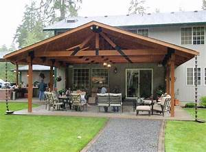Cheap covered patio ideas landscaping gardening ideas for Cheap patio cover ideas