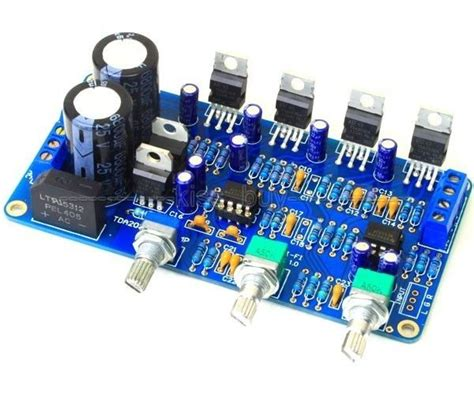 tda2030a 2 1 stereo 2 channel subwoofer audio lifier board diy kits 12v ac dual in