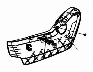 Dodge Grand Caravan Seat Frame Trim Panel  Manual  Inner