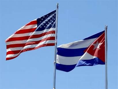 Cuba Flags Trade Embargo Flag America States