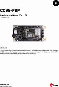 C099 F9p App Board Mbed Os3 Fw User Guide  Ubx 18063024
