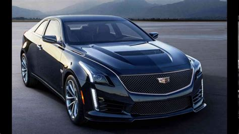 Allnew 2018 Cadillac Cts Coupe Youtube