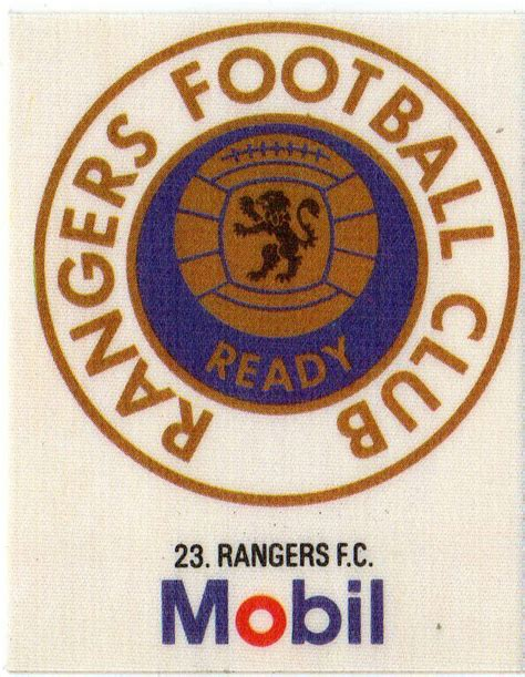Rangers crest. | Ranger, Glasgow rangers football, Angers