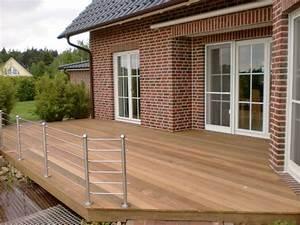 Geländer Holz Terrasse : holzterrassen und holzfliesen ~ Watch28wear.com Haus und Dekorationen