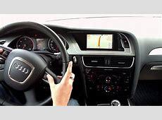 ANV 2010EU Audi A4 NavigationsNachrüstung YouTube