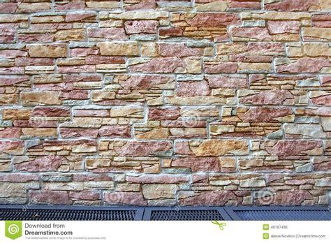 Steinwand Fuer Innen Und Aussen by Haus Au 223 En Mit Steinwand Und Boden Stockfoto Bild 46197436
