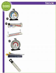 Taylor Thermometer 5932 User Guide