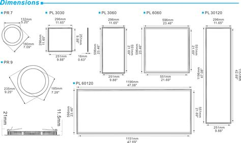 rectangular led panels dorset led
