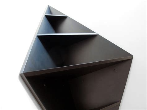 black corner shelf deco matt w