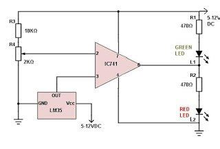 Incubator Temperature Controller Circuit Using