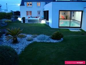 maison avec piscine en bretagne With maison bois avec piscine